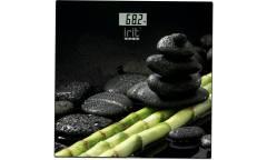 Весы напольные электронные IRIT IR-7257 стекло с рисунком 150кг