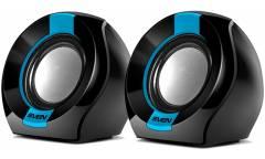 Компьютерная акустика Sven 150 2.0 USBчерно-синяя