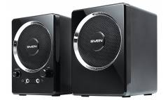 Компьютерная акустика Sven 247 2.0 USB черная