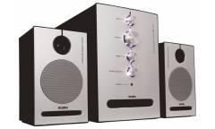 Компьютерная акустика Sven MS-321 2.1 алюминий/чёрный