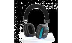Наушники беспроводные (Bluetooth) Ritmix RH-485BTH накладные c микрофоном черные