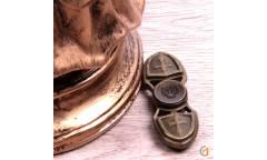 Спиннер антистресс металлический, арт 009952 (Бронзовый)