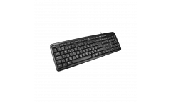 Клавиатура CANYON Wired Keyboard, 104 keys, USB2.0, Black, cable length 1.3m,
