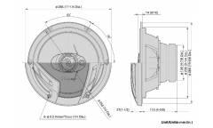 Колонки автомобильные Pioneer TS-A2503I (25см)