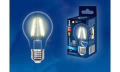 Светодиодная (LED) Лампа FIL (прозрачная) Uniel LED-A60-8W/NW/4000/E27/CL Sky стандарт