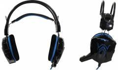 Наушники SmartBuy Rush Cobra накладные с микрофоном черные/синие