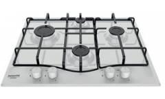 Газовая варочная поверхность Hotpoint-Ariston PCN 642 HA(WH) белый чр,4 конф, газ-кконтроль, автоподжиг