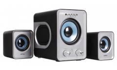 Компьютерная акустика SmartBuy Buzz  SBA-2600 2.1, MP3, FM, пульт ДУ, черно-серая