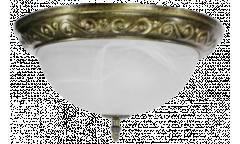 Светильник потолочный_DE FRAN_  YL2-3364-13/3AB _Е27 _3*40вт _ КЛАССИКА _античная бронза d33*h15см