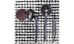 Наушники Ritmix RH-180M  внутриканальные Black