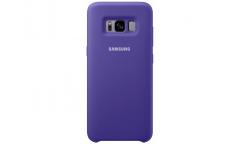 Оригинальный чехол (клип-кейс) для Samsung Galaxy S8+ Silicone Cover фиолетовый (EF-PG955TVEGRU)