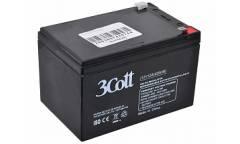 Аккумулятор для ИБП 3Cott 12V12Ah