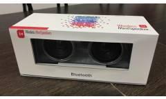 Беспроводная (bluetooth) акустика X3 с двумя динамиками, светодиодная подсветка