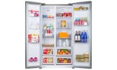 Холодильник Ascoli ACDS571W серебро SBS 482л(х320м162) 178,1*91*70см No Frost диспл