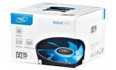 Устройство охлаждения(кулер) Deepcool Theta 15 Soc-1150/1155/1156/ 3-pin 27.8-27.8dB Al 290gr Ret