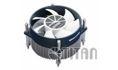 Устройство охлаждения(кулер) Titan TTC-NA32TZ/R Soc-1150/1155/1156/ 3-pin 20.1dB Al Ret