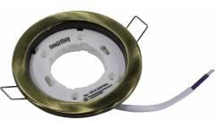 Светильник встраиваемый _Smartbuy _под лампу GX53/Bronze (SB-Svet-Bronze)