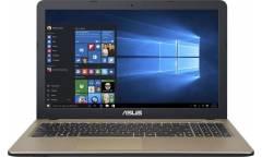 "Ноутбук Asus VivoBook A540UA-DM1486 Pentium 4417U/4Gb/SSD128Gb/Intel HD Graphics 610/15.6""/FHD (1920x1080)/Endless/black/WiFi/BT/Cam"
