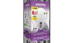 Светодиодная (LED) Лампа Smartbuy-G45-8,5W/3000/E27