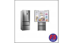 Холодильник Candy CCMN 7182 IXS серебристый (трехкамерный)
