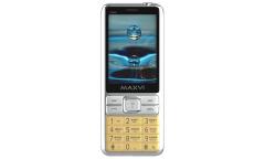 Мобильный телефон Maxvi X900 gold