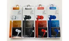 Наушники Rainbow Z3 внутриканальные c микрофоном синие