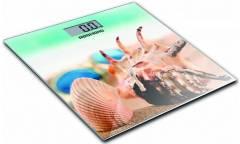 Весы напольные электронные Redmond RS-733 макс.180кг зеленый/рисунок