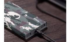 Внешний аккумулятор Hoco Camo Power Bank B12C-13000 mAh, Зелёный