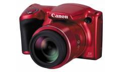 Цифровой фотоаппарат Canon PowerShot SX410 IS красный