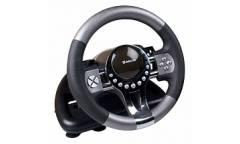 Руль Defender Forsage GTR 12 кнопок + два подрулевых переключателя + восьмипозиционный переключатель