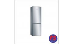 Холодильник Bosch KGN36NL14R серебристый (двухкамерный)