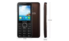 Мобильный телефон Alcatel OT2007D 2Sim Dark Chocolate