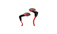 Наушники Gal MPV-9000 внутриканальные керамика черно-красные