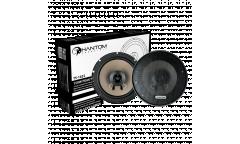 Колонки автомобильные Phantom TS-1622 150Вт 90дБ 4Ом 16.5см (6 1/2дюйм) (ком.:2кол.) коаксиальные
