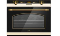 Духовой шкаф электрический RODMANS BOE 6914 AN черный 64л гриль конвекция RUSTIC