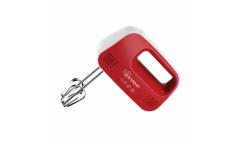 Миксер ручной Endever Sigma 04, белый-красный 150Вт