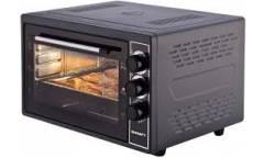 Мини-печь Kraft KF-MO 3801 BL черный 38л 1500Вт 2противня решетка макс 320*