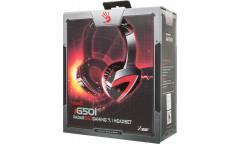 Наушники с микрофоном A4 Bloody G501 черный 2.2м мониторы оголовье (G501)