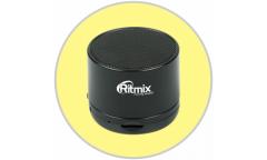 Беспроводная (bluetooth) акустика Ritmix SP-130B черная