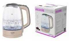 Чайник электрический VICONTE VC-3287 стекло 1,8л 2200Вт