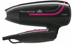 Фен Rowenta CV3312F0 1600Вт черный складная ручка
