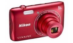 Цифровой фотоаппарат Nikon CoolPix S3700 серебристый