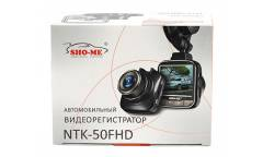 Видеорегистратор Sho-Me NTK-50FHD черный 1080x1920 1080p 170гр.