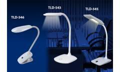 Светильник настольный Uniel LED TLD-546 Black/LED/350Lm/4500K прищепка черный