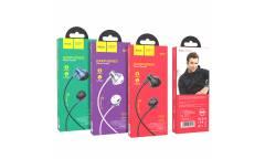 Наушники Hoco M75 Belle Universal earphones внутриканальные c микрофоном (черные)