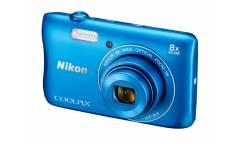 Цифровой фотоаппарат Nikon CoolPix S3700 розовый