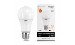 Лампа светодиодная GAUSS _A60_10W/2700K_E27 _Стандарт