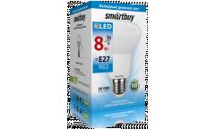 Светодиодная (LED) Лампа Smartbuy-R63-08W/6000/E27