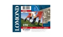 Фотобумага Lomond 10x15 270 г/м2 Satin (Warm) 500л