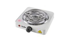 Плитка электрическая TESLER PEO-01 WHITE 1конфорка 1000Вт спираль эмаль